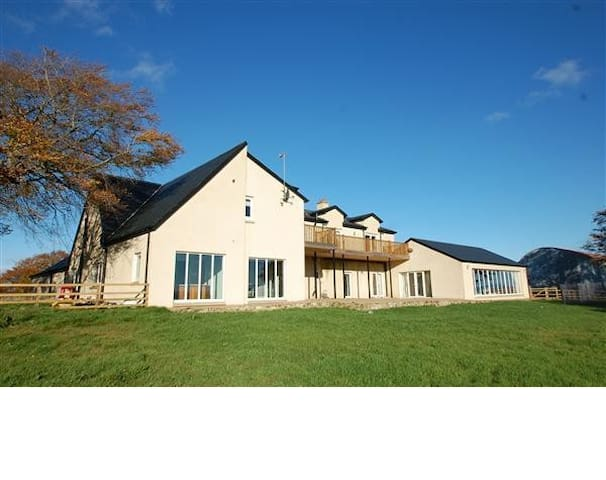 High Brownmuir luxury house getaway for 12 people - Glassford - Casa