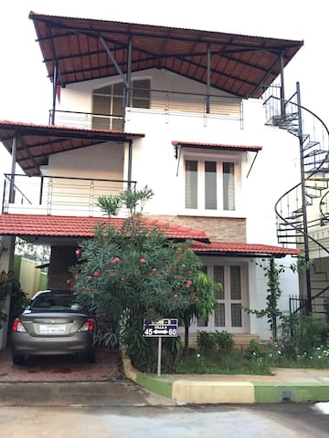 Charming Villa retreat 2.5BR + 3bath - Bangalore - Villa