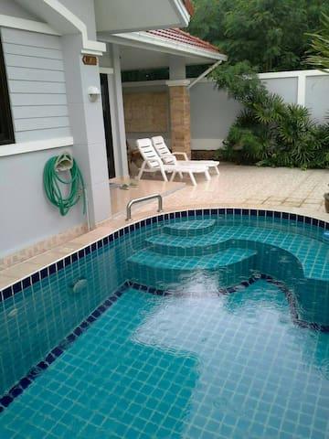 Baan Koonsuk 2 & Private Pool 3B2R - Bang Sa-re - Dům