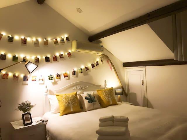 【The Bund】外滩南京路步行街清新田园阁楼garden loft house