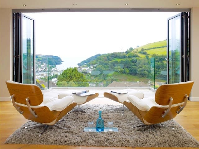 Stroll into Dartmouth from a Luxurious Penthouse