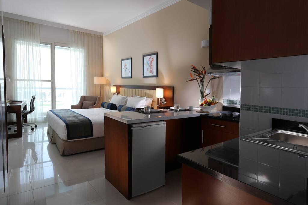 Spacious furnished studio apartment apartments for rent for Furnished studio apartments