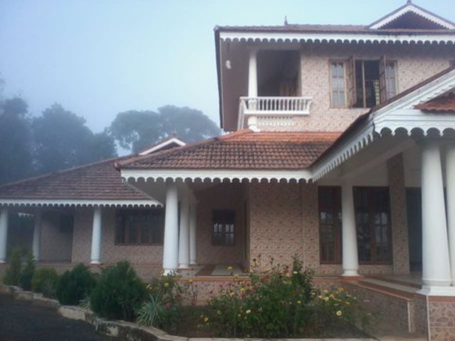 Elevation (Front view) of the House 1