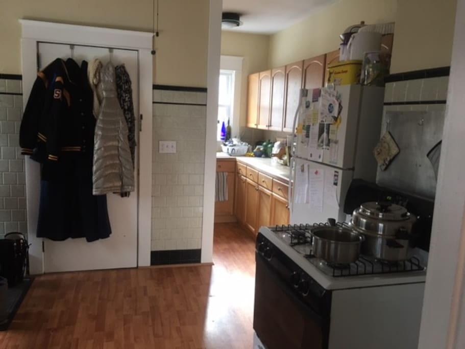 Kitchen privileges included with designated pantry and fridge space