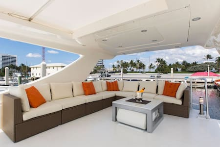 LUXURY Boatel Close to the Beach - Fort Lauderdale - Barco