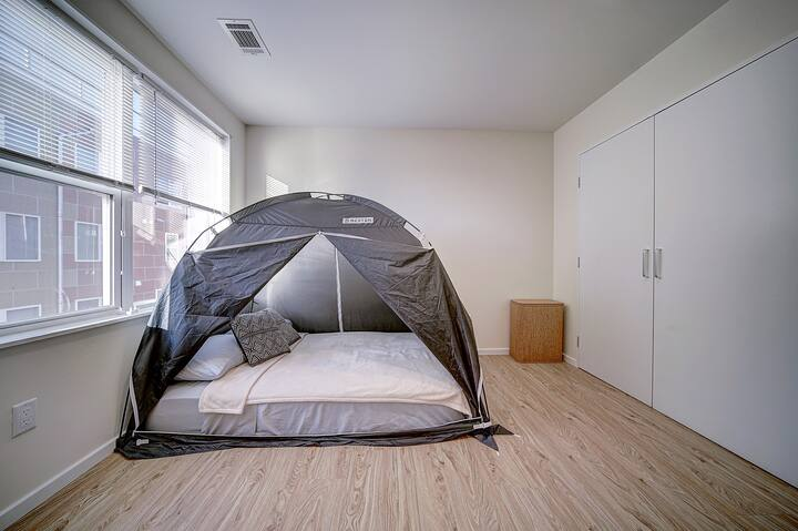 City Escape ♦ Bed Tent ♦ West Philly Rooftop Deck