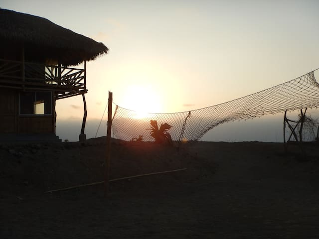 Cabaña Punta la Barca - Manta - Aamiaismajoitus