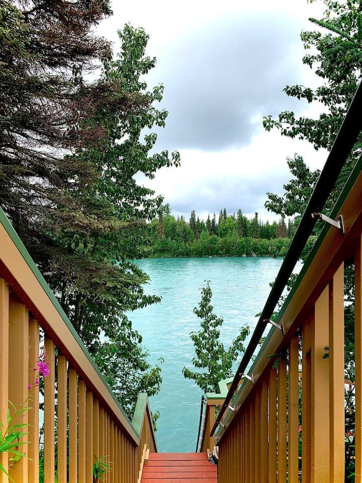 Cabin-Style Condo on World-Famous Kenai River