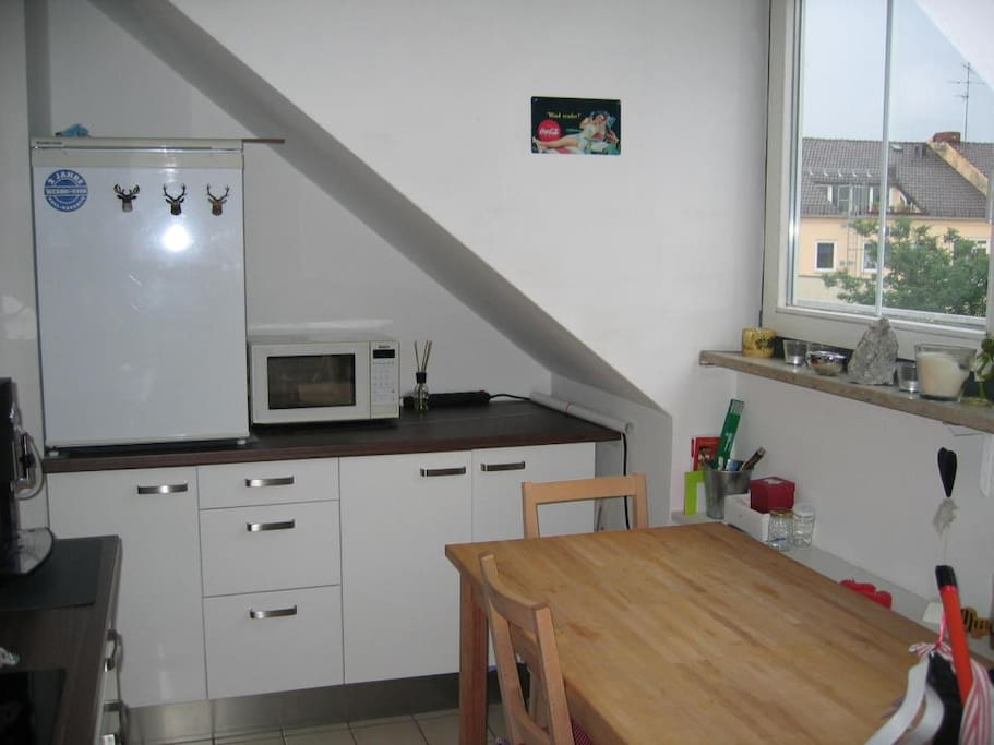 Large, fully-equipt kitchen