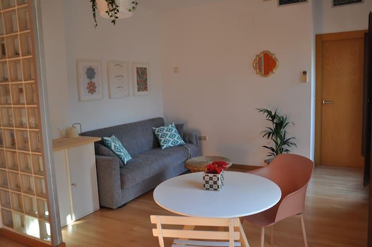 Apartamento en el centro, luminoso y con encanto