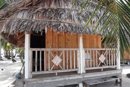 Beachfront Wooden Cabin at the San Blas Islands