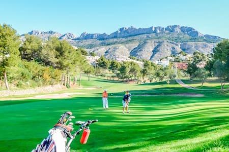 Altea,Golf,Sea,Zw,WiFi,Lux Penth.4p - Altea La Vella