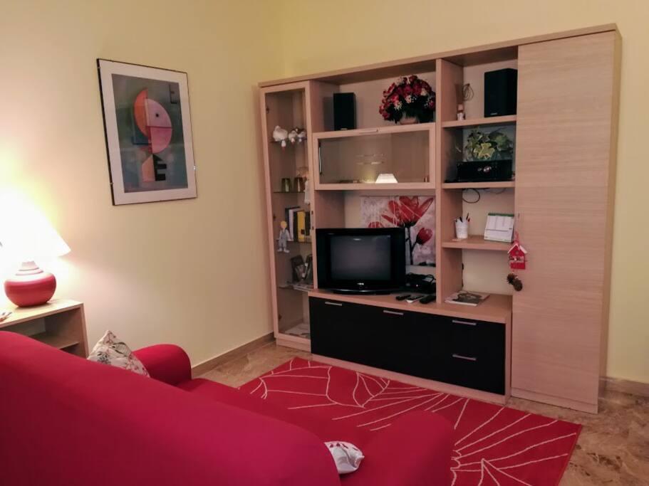 soggiorno area tv
