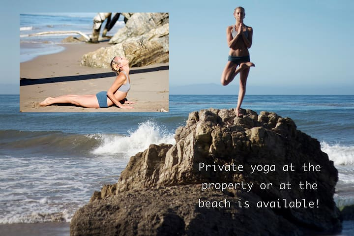 "Offering a blend of traditional yoga, meditation and seasonal influences, Brandi Cass will guide you through a rhythmic practice in-line with the particular energy for the time of year.  Choosing specific postures, movements and reflections appropriate for the season, we will stimulate both the mind and body.   Where: At ""home"" on the property or on the beach. Your choice!  Pricing: 1 hour session for up to 4 people is $150 Each additional person is $15"