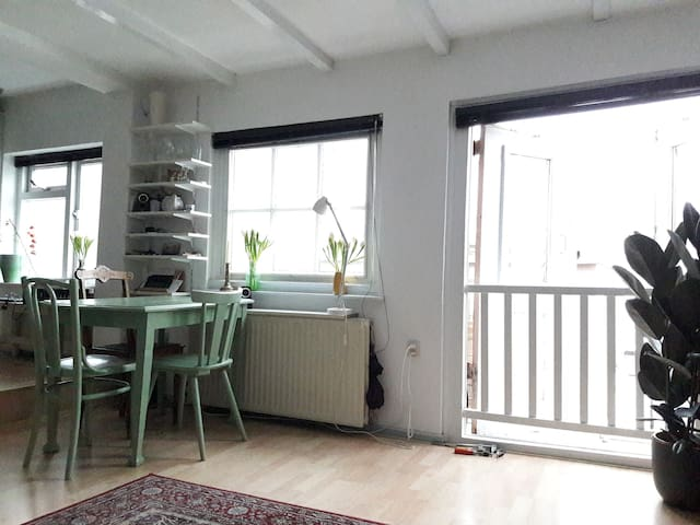 →COZY 2P. APARTMENT IN UTRECHT CITY CENTER