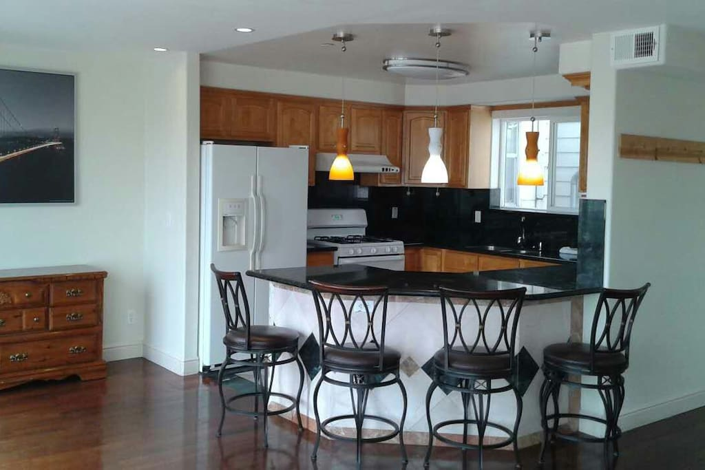 Shared Kitchen/Dining Area
