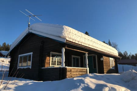 Ski cottage by Vasaloppet