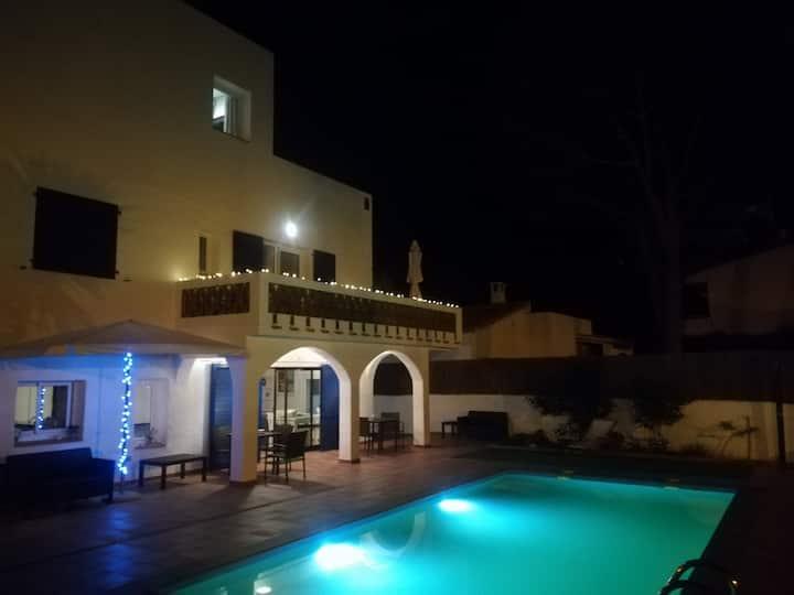 Villa en S'Agaró con piscina privada y barbacoa