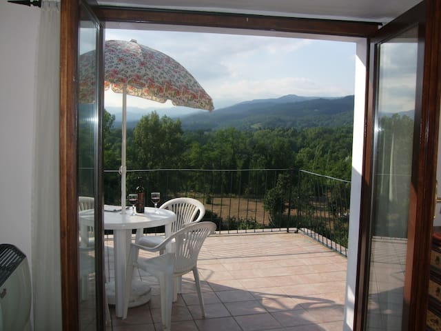 2-bed apartment, panoramic terrace - Virgoletta - Appartement