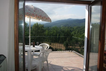 2-bed apartment, panoramic terrace - Virgoletta