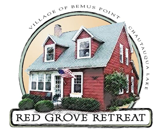 Red Grove Retreat- Village of Bemus Point - Bemus Point - Rumah