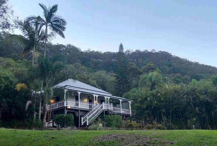 Rainforest Respite, boutique garden apartment