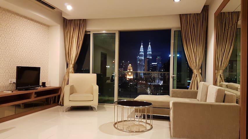 KLCC View, Regalia @ Kuala Lumpur City Centre - Kuala Lumpur - Appartement en résidence