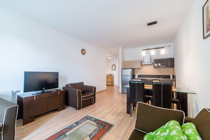 Apartament osiedle Bałtyk 2-pokoje - Grzybowo - Apartament