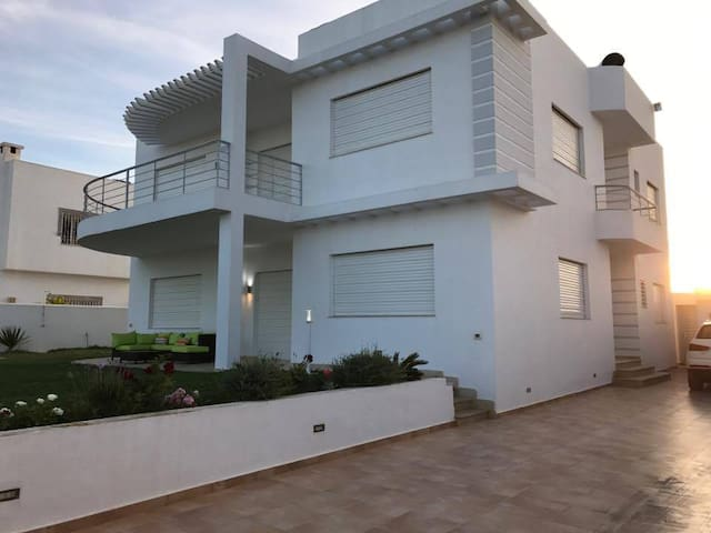 Villa A&M  a Kelibia la blanche