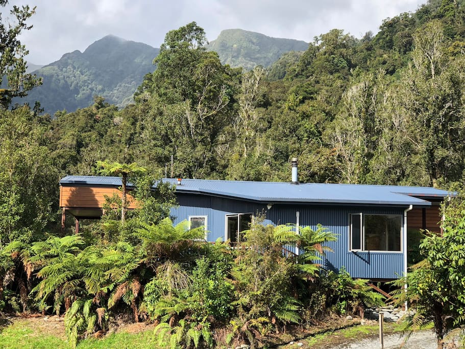 The Ferns Luxury Hideaway is elevated amongst the rainforest backing onto National Park.