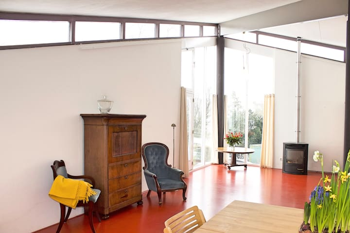 Spacious apartment with great view - Woubrugge - Huoneisto
