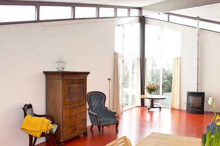 Spacious apartment with great view - Woubrugge - Apartamento