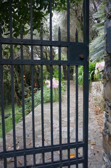 Entrata al giardino