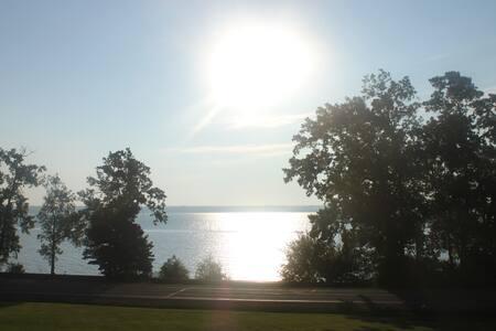 Private Suite w/ Deck...Seneca Lake View & Access.