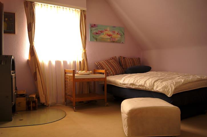 gemütliches Wohnzimmer zentru(SENSITIVE CONTENTS HIDDEN)ah - Bonn - Apartment