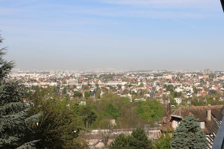 Very quiet flat 70 sqm for 2, lovely view on Paris - Chennevières-sur-Marne - 公寓