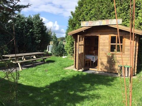 Cabana de Cowboy Casal de Alimentação Quente