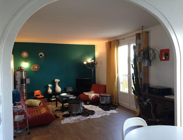 Appartement déco vintage à 10' du centre de Nantes