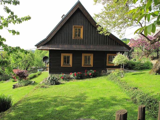 Podkroví valašské dřevěnice - Francova Lhota - Ev