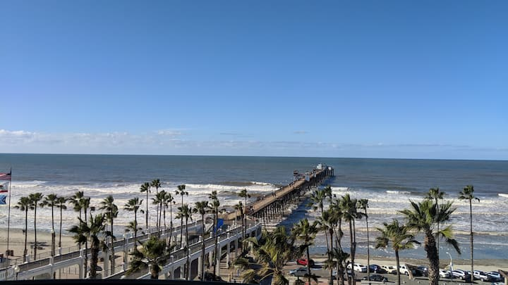 Oceanside Pier Resort, Sleeps 6, 2 bath