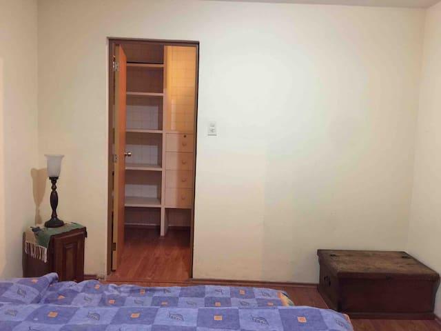 Habitación privada en Coyoacán con cocina y garage