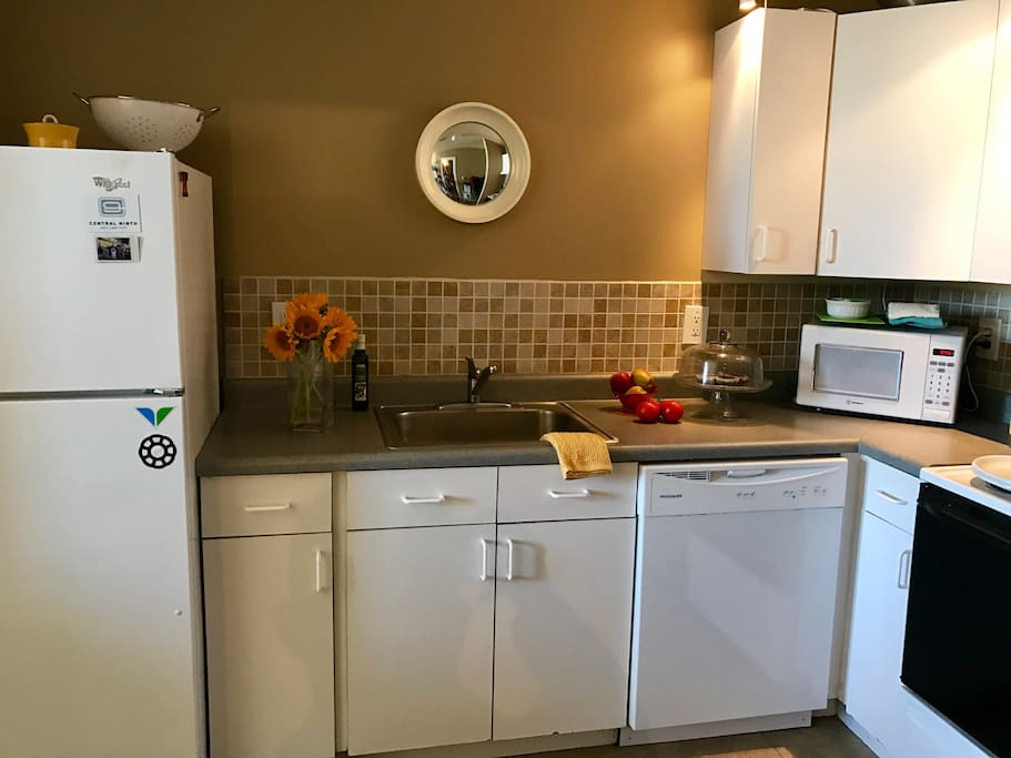 Fully functioning kitchen for your enjoyment