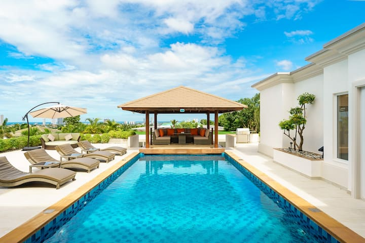 Sunset View Pool Villa / 7 BR 14-16 Persons