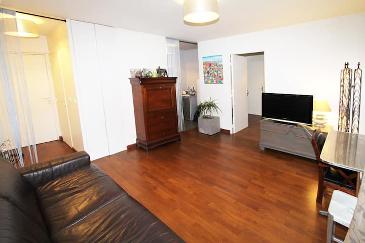 Appartement  type F2.  39 m2.