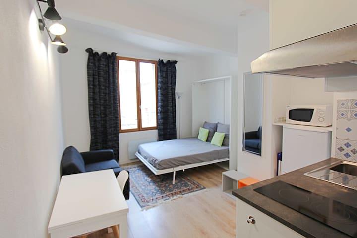 Renovated Studio City center Aix-en-Provence