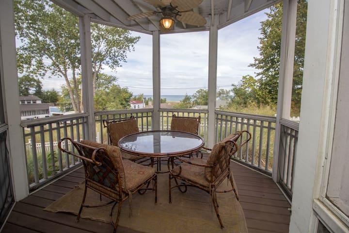 Massive Lake Michigan home in Resort Community