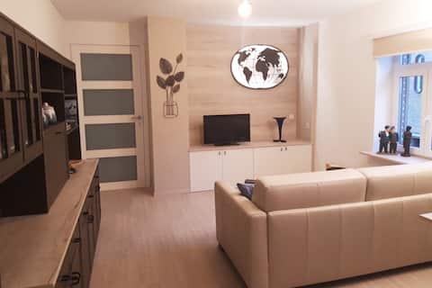 Charta  Appartement, tussen Brussel en Leuven.