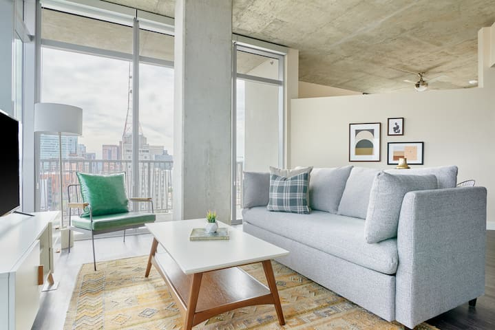 Sonder | Great for Remote Work | 2BR + Balcony