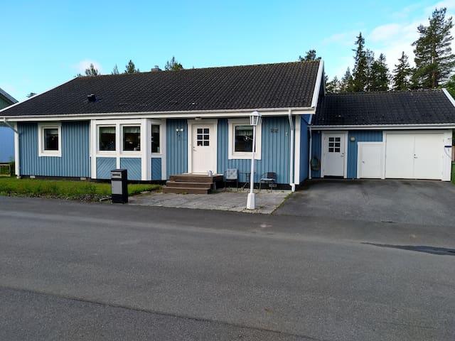 Hus i Östersund med plats för många