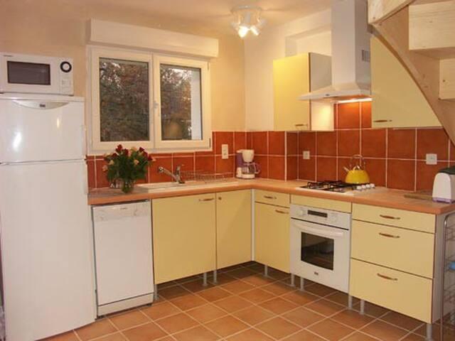 maison dans un site priviligié - Labeaume - Haus